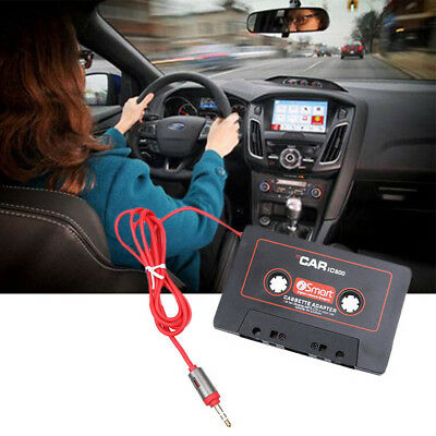 NEW Car Cassette Tape Audio Adapter Stereo Converter for iPhone iPod MP3 AUX CD