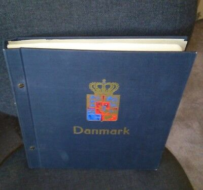 Danish Denmark Lighthouse printed Album 1851-1989 ~1000 stamps NOT ALL SCANNED