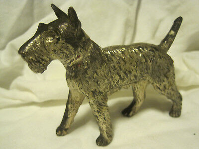 VTG CAST METAL Scottish Terrier? Dog  #864 Figurine Made In Japan