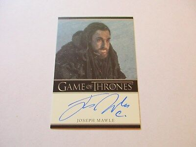 Game of Thrones Season 7 * Joseph Mawle as Benjen Stark Bordered Autograph Card