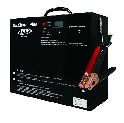 New Dischargeplus 36/48V 25/56/75A - Battery Discharger