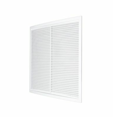 """Air Vent Grille 340mm x 340mm with Fly Screen Ducting Cover Grid 17.4"""""""