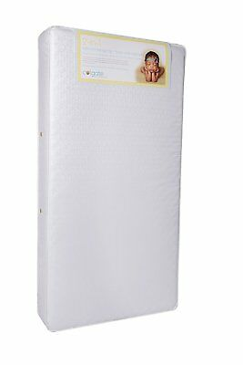 Crib and Toddler Mattress with Waterproof Cover Colgate 2-N-1 Innerspring White