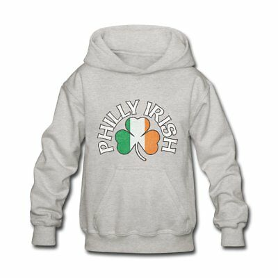 Philly Irish Shamrock Flag Apparel St. Pat's Kids' Hoodie by Spreadshirt™