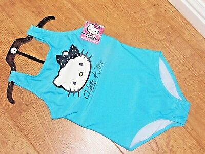 Hello Kitty  Girls'  One Piece Swimsuit  4 SIZES AGE 4/5/6/7 BNWT