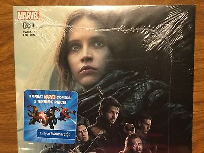 Marvel 2017 Rogue One Star Wars 1 Walmart Exclusive 3 Pack Variant Movie Poster