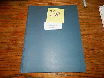 Comet Mill 3KVHD 2SHG  Operation & Maintenance Manual LOT # 266