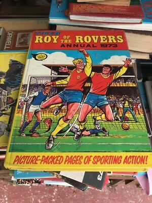 Roy Of The Rovers 1973 Annual