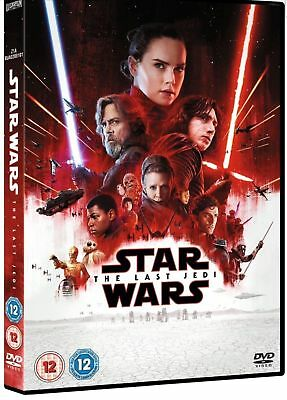 Star Wars The Last Jedi Dvd (2018) Brand New And Sealed.