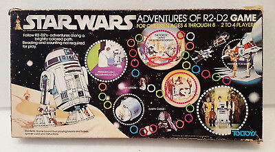 Vintage Board Game  - Star Wars board game Adventures of R2-D2 - 1977