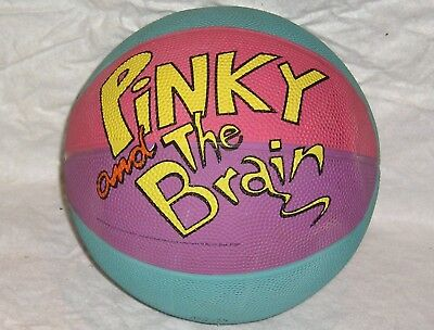 Vintage Pinkie and the Brain Basketball - 1997 Warner Brothers Looney Tunes