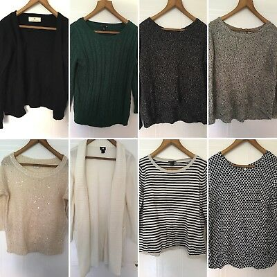 womens clothes bundle size 12 tops knitted sweaters