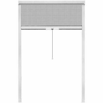 Roll Down Insect Screen For Windows 120 x 170 Cm - White