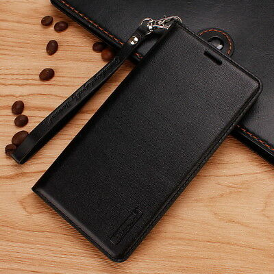 Flip Magnetic Leather Wallet Card Slot TPU Case Cover Stand For  For OnePlus 6