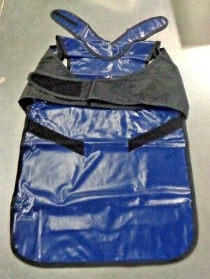 Radiation Concepts 42940 Navy Blue X Ray Apron MEV-6 NEW
