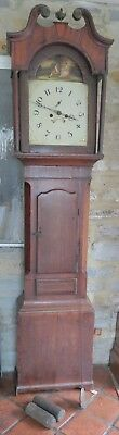 Antique Longcase Clock for Refurb. Gadsby Leicester. 8 Day. Oak/ Mahogany. c1820