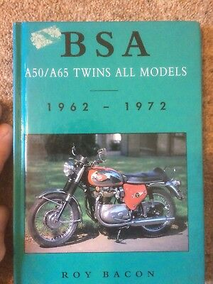 Bsa A50 And A65 Twins 1962-1972 Lovely Motorcycle Book!