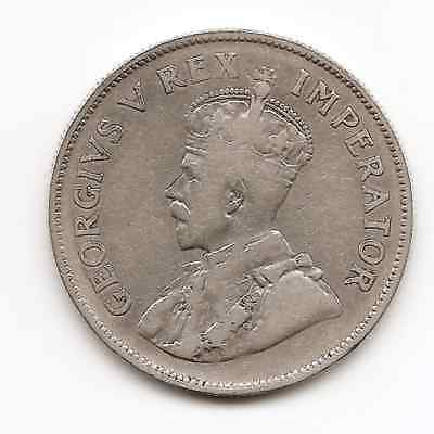 South Africa 1926 2 1/2 Shillings Silver Piece (Low Mintage)