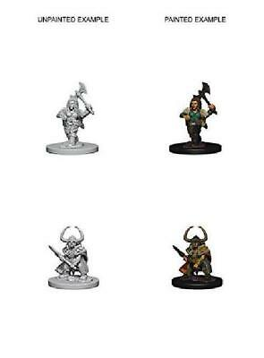 Dungeons And Dragons Nolzur'S Marvelous Unpainted Miniatures Dwarf Female New