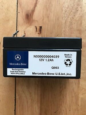 Mercedes R Class Rechargeable Lead Acid Battery N000000004039 12V1.2Ah W251 2006