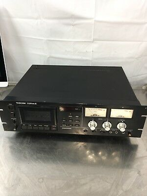 Tascam 112R MK II Cassette Tape Deck With Pitch Control As Is