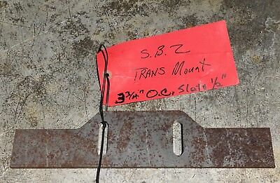 "Transmission Mounting Plate 1/4"" Steel - Street Rod, Race Late Model Modified"