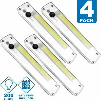 Kasonic Cob Super Bright Cordless Emergency LED Night Light Set of 4 Pack