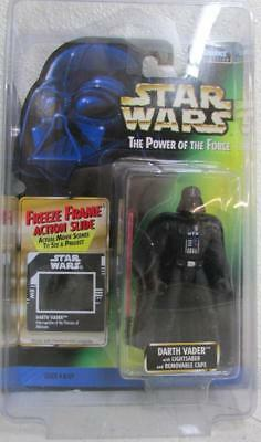 Kenner Hasbro Star Wars Power of the Force FREEZE FRAME DARTH VADER ~SW7