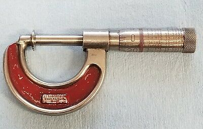 "J. T. Slocomb Co. 0 TO 1.0"" Flange Micrometer .001"" Grad."