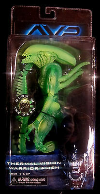 ALIEN VS. PREDATOR Thermal Vision Warrior Alien Action Figur (Glow-In-The-Dark)