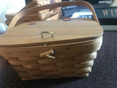 Longaberger basket set of 10