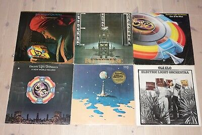 ELECTRIC LIGHT ORCHESTRA - SAMMLUNG VINYL LP - Ole ELO,Time,Face the Music,Out