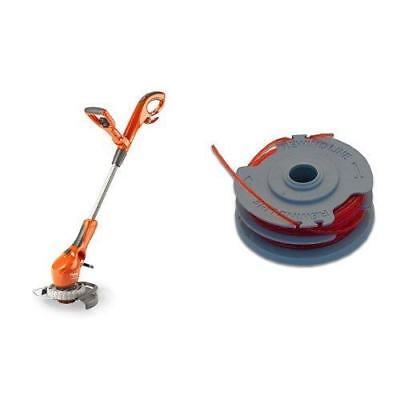 Flymo Contour 500E Electric Grass Trimmer and Edger 500W with Double Line...