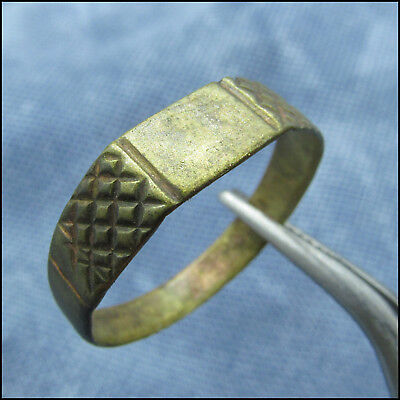 ANCIENT BYZANTINE or  MEDIEVAL BRONZE RING!!!