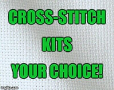 Cross-Stitch Kits - Some Nip & Some Opened - Your Choice!