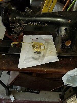 Singer Industrial Sewing Machine Model 112 Double Needle