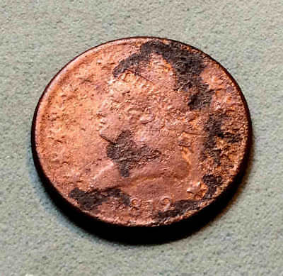 1812 Classic Cent VF Sharp Nice