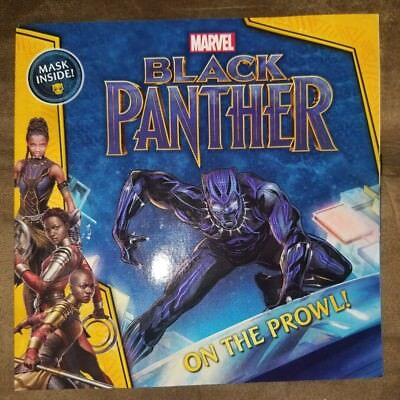 Brand new Marvel Comics Black Panther On the Prowl Illustrated Young Reader book