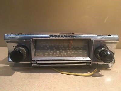 Early HOLDEN AM Car Radio