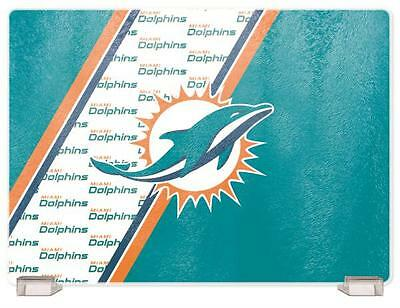 Miami Dolphins Kitchen Glass Cutting Board
