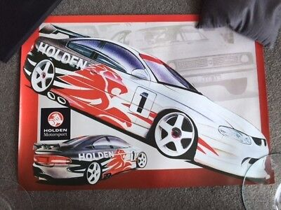 Holden Motor Sport Poster; Picture Of A Future Monaro Touring Car