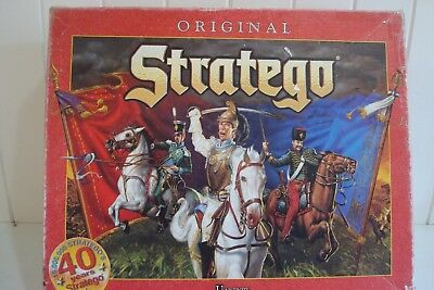 Original Stratego Board Game - 40th Year Anniversary - Edition University Games