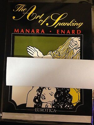 The Art of Spanking by Milo Manara & Jean-Pierre Enard (1991) L'art de la fessée