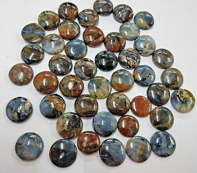 Natural Chatoyant Pietersite Round Calibrated Loose Gemstone Wholesale Lot 16MM