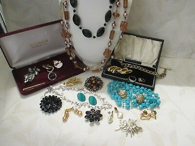 Nice Job Lot Of Good Quality Vintage & Modern Costume Jewellery