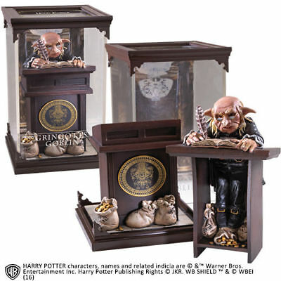 Magical Creatures Noble collection Harry Potter resina Gringott Goblin Nuova