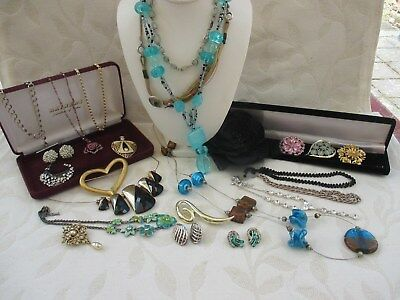 Job Lot Of Good Quality Vintage & Modern Costume Jewellery