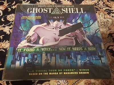 GHOST IN THE SHELL Laserdisc LD US Release Anime Manga Ent laser disc