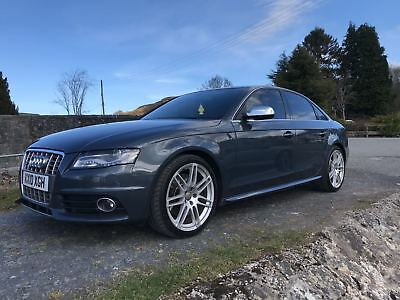 AUDI S4 A4 3.0T V6 46K Miles Rare Paint Leather SATNAV Meteorite Grey Immacul A*
