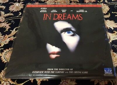 In Dreams Laserdisc Horror Late Release 1999